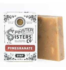 Spinster Sisters Pomegranate Signature Bath Soap