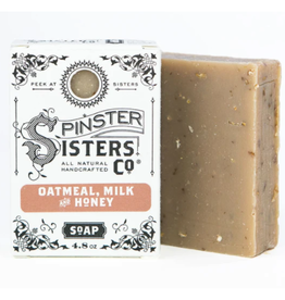 Spinster Sisters Oatmeal Milk & Honey Signature Bath Soap