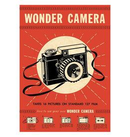 Cavallini Papers & Co. Wrap Wonder Camera