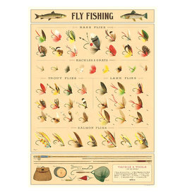 Cavallini Papers & Co. Wrap Fly Fishing