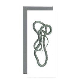 Open Sea Design Co. Green Mamba No.10 Everyday Notecard