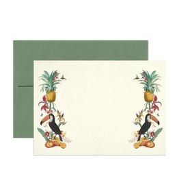 Open Sea Design Co. Ix Chel's Garden Set of 6 Flat A7 Everyday Notecards