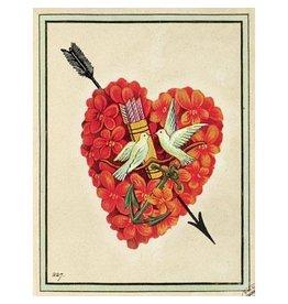 Cartolina Heart A2 Love Notecard