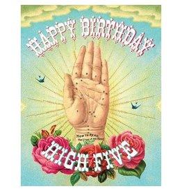 Cartolina Happy Birthday High Five A2 Notecard