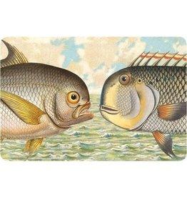 Cartolina Seaside Two Fish Postcard