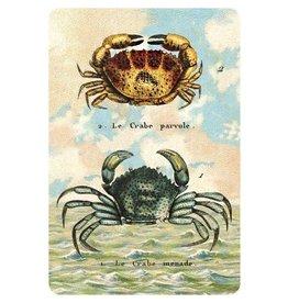 Cartolina Seaside Two Crabs Postcard