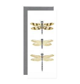 Open Sea Design Co. Dragonflies No.10 Everyday Notecard