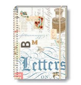 Rossi A5 Notebook Lettres Wire Ruled