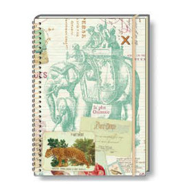 Rossi A5 Notebook Voyages Wire Ruled