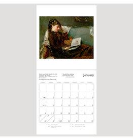 Pomegranate The Reading Woman 2022 Mini Wall Calendar