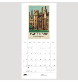 Pomegranate England by Rail 2022 Wall Calendar
