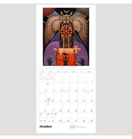 Pomegranate Desert Mystic: The Paintings of John Simpkins 2022 Wall Calendar