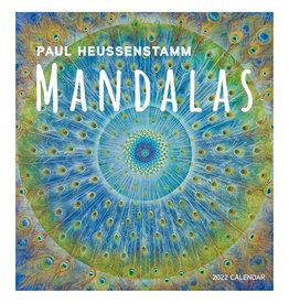 Pomegranate Paul Heussenstamm: Mandalas 2022 Wall Calendar