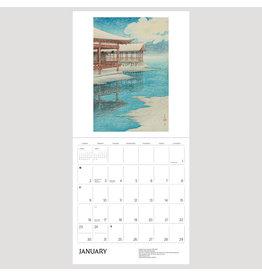 Pomegranate Kawase Hasui 2022 Wall Calendar