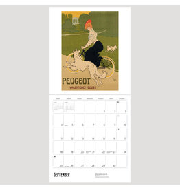 Pomegranate Bicycles: Vintage Posters 2022 Wall Calendar