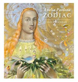 Pomegranate Anelia Pavlova: Zodiac 2022 Wall Calendar