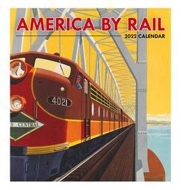Pomegranate America by Rail 2022 Wall Calendar