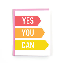 Public School Paper Co. Yes You Can Congrats Notecard A2