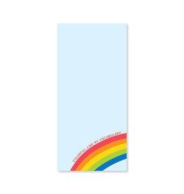 Public School Paper Co. Rainbow Vocabulary List Notepad