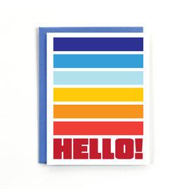 Public School Paper Co. Hello Everyday Notecard A2