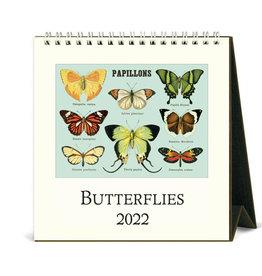 Cavallini Papers & Co. 2022 Desk Calendar Butterflies