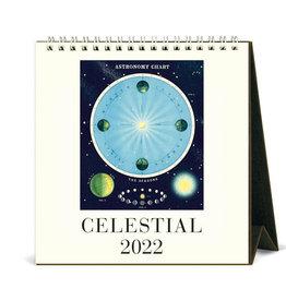 Cavallini Papers & Co. 2022 Desk Calendar Celestial