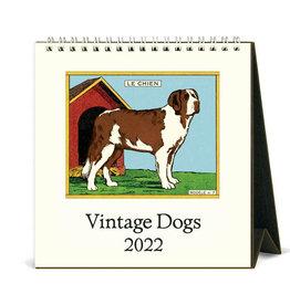 Cavallini Papers & Co. 2022 Desk Calendar Dogs