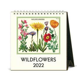 Cavallini Papers & Co. 2022 Desk Calendar Wildflowers