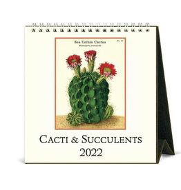 Cavallini Papers & Co. 2022 Desk Calendar Succulents