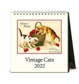 Cavallini Papers & Co. 2022 Desk Calendar Cats