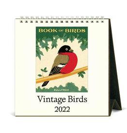 Cavallini Papers & Co. 2022 Desk Calendar Birds