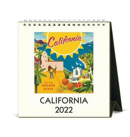 Cavallini Papers & Co. 2022 Desk Calendar California