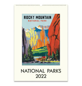 Cavallini Papers & Co. 2022 Wall Calendar National Parks
