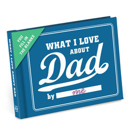 Knock Knock What I Love About Dad Fill in the Love Gift Book