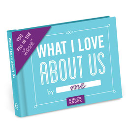 Knock Knock What I Love About Us Fill in the Love Gift Book