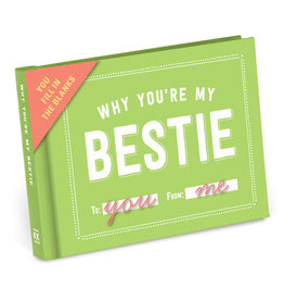 Knock Knock Why You're My Bestie Fill in the Love Gift Book