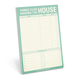 Knock Knock Things to Do Around the House Pad