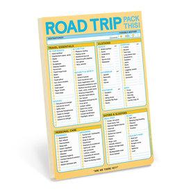 Knock Knock Road Trip Pad