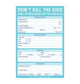 Knock Knock Don't Kill the Kids Pad