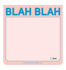 Knock Knock Blah Blah Sticky Note (Pastel Version)