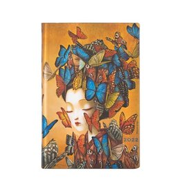 Paperblanks 2022 Madame Butterfly Mini Planner