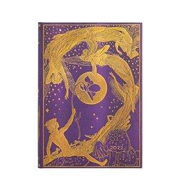 Paperblanks 2022 Violet Fairy Midi Planner