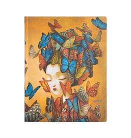Paperblanks 2022 Madame Butterfly Ultra Planner