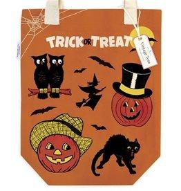 Cavallini Papers & Co. Halloween Tote Bag