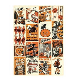 Cavallini Papers & Co. Trick or Treat Wrap