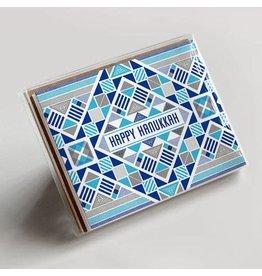 Hammerpress Happy Hanukkah Nomad Box of 6 A2 Notecards