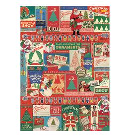 Cavallini Papers & Co. Wrap Vintage Christmas