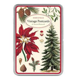 Cavallini Papers & Co. Christmas Botanica Postcards