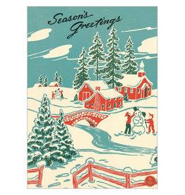 Cavallini Papers & Co. Christmas Wrap Winter Wonderland