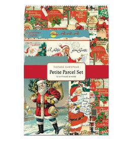 Cavallini Papers & Co. Christmas Santa Petite Parcel Set